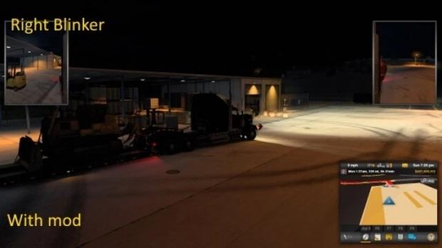ATS - Brighter Truck and Trailer Lights V19.09 (1.41.x)