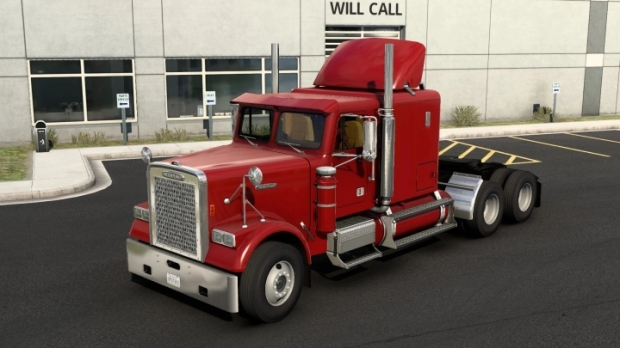 ATS - Freightliner FLC Custom Truck (1.41.x)