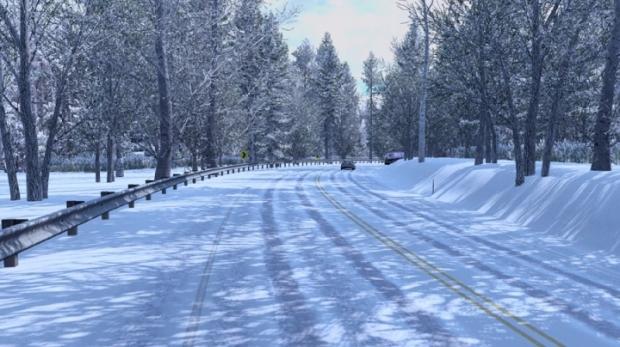 ATS - Frosty Winter Weather Mod V4.0 (1.41.x)