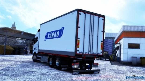 ETS2 - Kraker/NTM Tandem Addon for Volvo FH 2012 V3.4 (1.41.x)