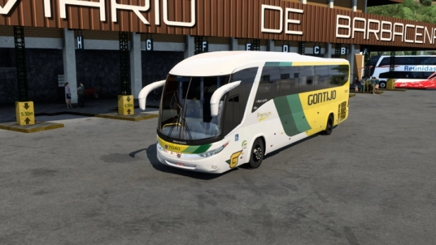 ETS2 - Marcopolo G7 1200 Scania (1.41.x)