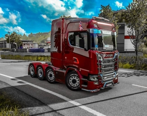 ETS2 - Realistic Sound Mod for All Trucks (1.41.x)