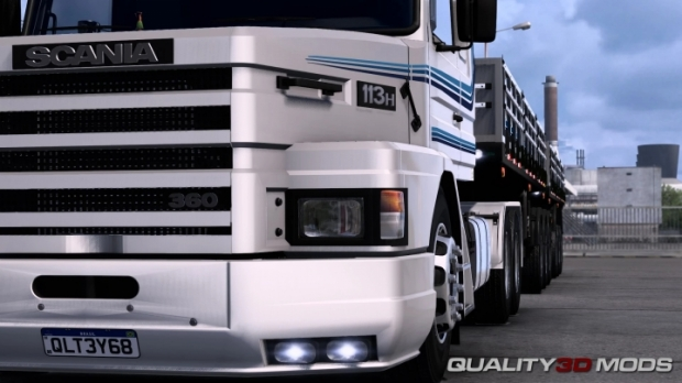ETS2 - Scania 113 H Air Suspension (1.41.x)