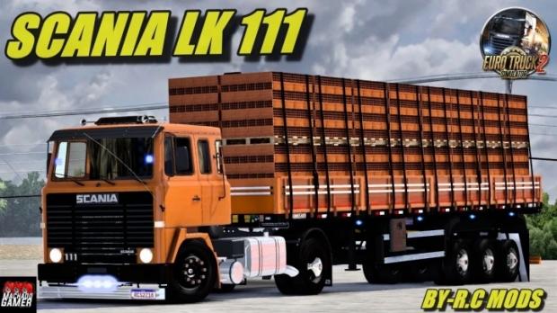 ETS2 - Scania LK 111 Truck V2.0 (1.41.x)