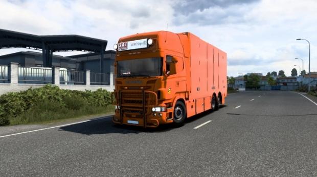 ETS2 - Scania R & Streamline Mega Mod V4.5 (1.41.x)