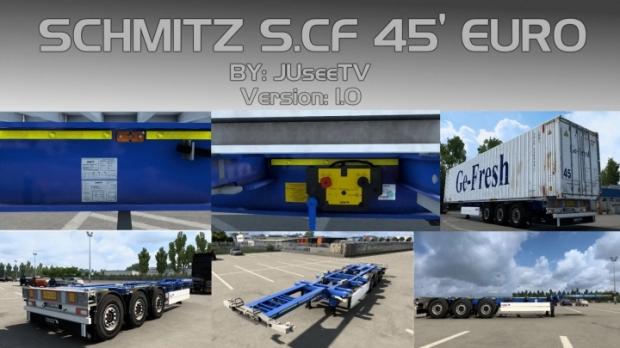 ETS2 - Schmitz S.CF 45 Euro V1.0 Fixed (1.41.x)