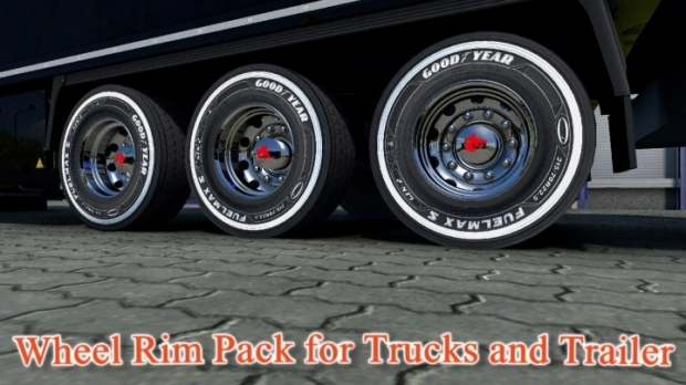 ETS2 - Wheel Rim Pack for Trucks and Trailers (1.41.x)