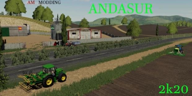FS19 - AndaSur Map V1.0