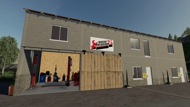 FS19 - Apartment with Doctor and Dentist V1.0