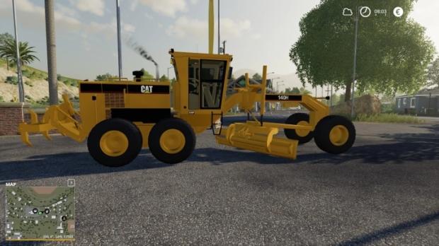 FS19 - Caterpillar 140H V1.0