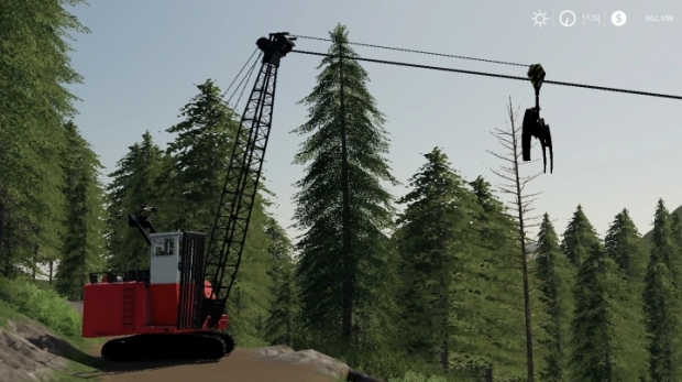 FS19 - Cypress 7280 Grapple Yarder V1.0