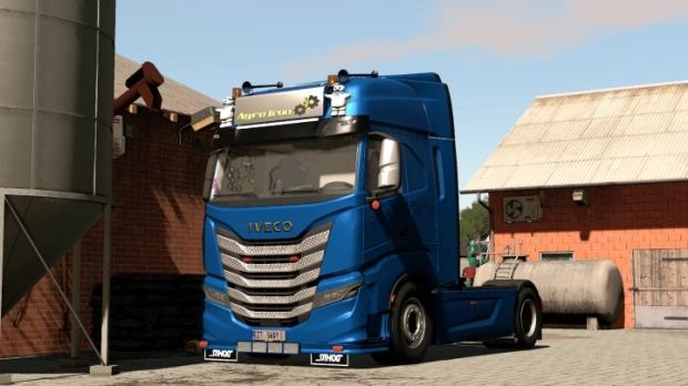 FS19 - Iveco S-Way Holland Style V1.0