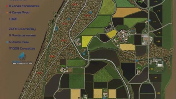 FS19 - Les Fermes Briard Map V1.0