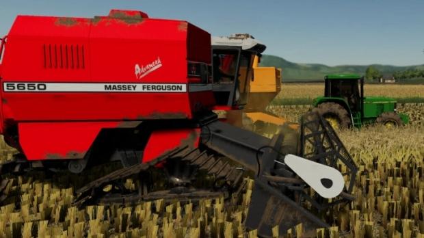 FS19 - Massey Ferguson 5650 And Massey Ferguson 5650 Cutter V1.2.1