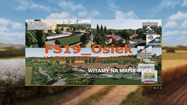 FS19 - Osiek Seven Farms Ready V2.3