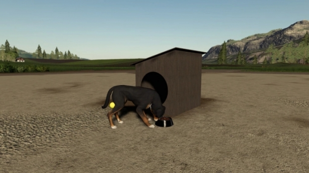 FS19 - Polish Dog House (Prefab) V1.0