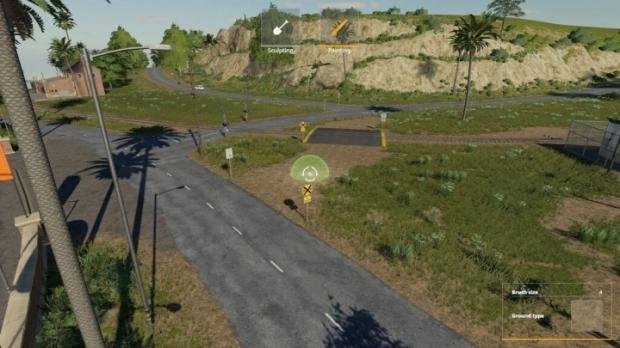 FS19 - Rail Road Crossing V1.0