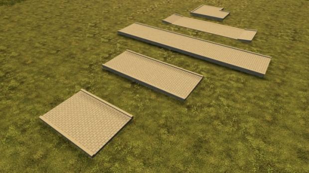 FS19 - Sidewalks (Prefab) V1.0
