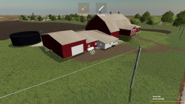 FS19 - Watsons Tie Stall Barn V1.0