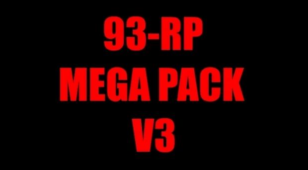 ETS2 - 93-RP Mega Pack V3 [Work on SCS MP + TRUCKERMP] 1.41.x