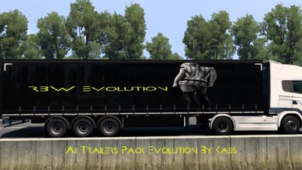 ETS2 - Ai Trailers Pack Evolution V1.0 (1.41.x)