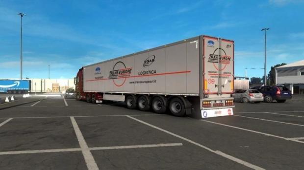 ETS2 - Cargo Trailer Transeurope V1.0 (1.42.x)