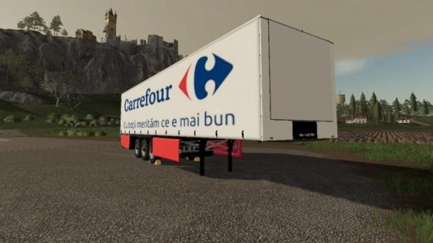 FS19 - Carrefour Trailer V1.0