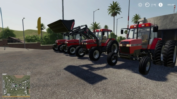 FS19 - Case IH Maxxum Series US from 1990 to 1997 V1.0