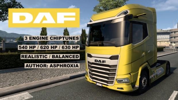 ETS2 - Chiptuned MX-13 for DAF 2021 V1.2 (1.42.x)