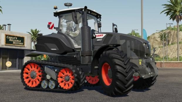 FS19 - Claas 900 Terra Trac Black Edition V1.0