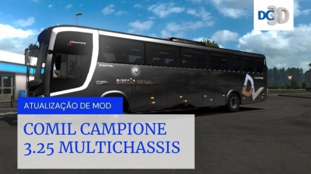 ETS2 - Comil Capione 3.25 Multichassis V1.1 (1.42.x)