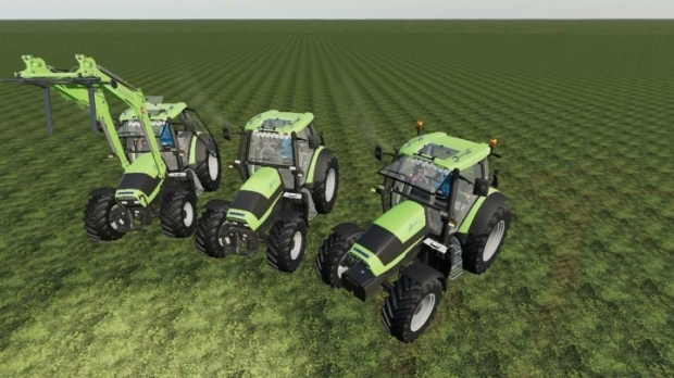 FS19 - Deutz Agrotron 128-150 Tractor V1.0