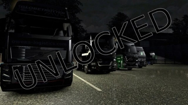 ETS2 - Every Truck and Trailer Part Unlocked at Level 0 (1.42.x)
