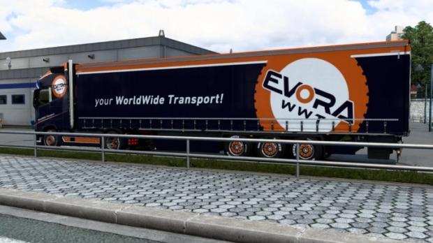 ETS2 - Evora WWT Skins V1.0 (1.42.x)