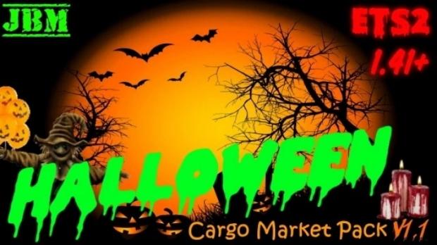 ETS2 - Halloween Cargo Pack V1.1 (1.41.x)