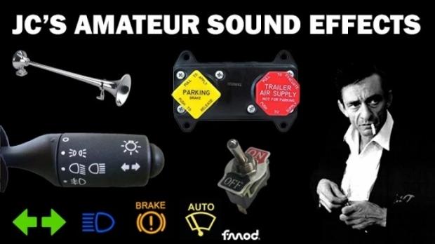 ETS2 - JC Amateur Sound Effects Pack V1.1 (1.42.x)