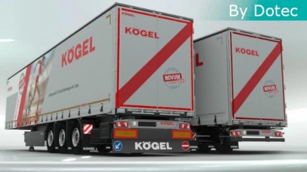 ETS2 - Kogel Trailers V1.0.2 (1.42.x)