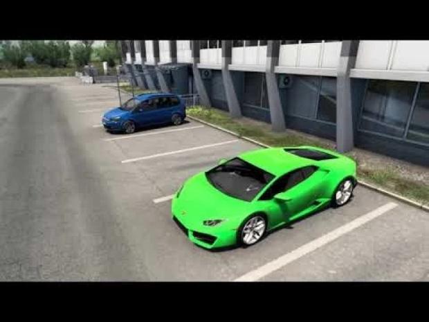 ETS2 - Lamborghini Huracan 5.2L V10 Sound (1.42.x)