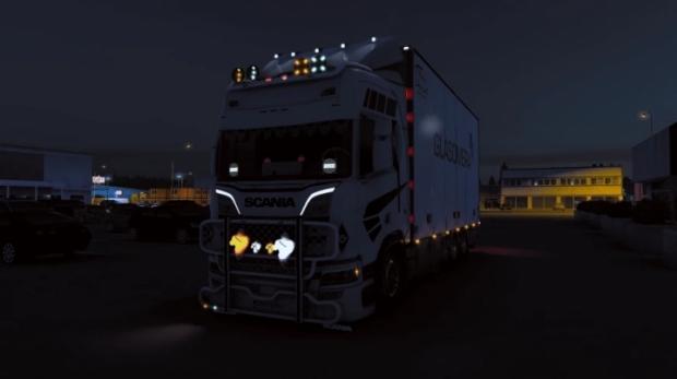 ETS2 - R.H Truckstyling Lightpack (1.40.x)