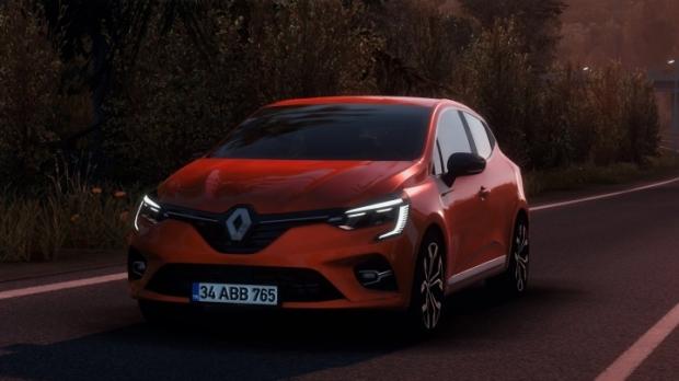 ETS2 - Renault Clio V V1R80 Fixed (1.42.x)