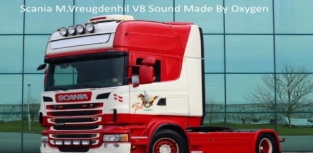 ETS2 - Scania M.Vreugdenhil V8 Sound Mod (1.42.x)