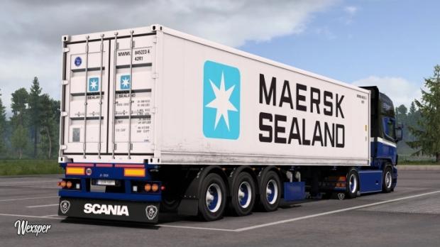 ETS2 - Scania RJL Jeffrey Hart Skin Pack V1.0 (1.42.x)