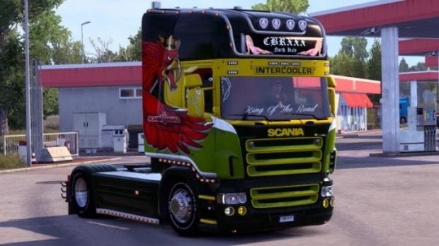 ETS2 - Scania RJL R Griffin Wing Skin V1.0 (1.42.x)
