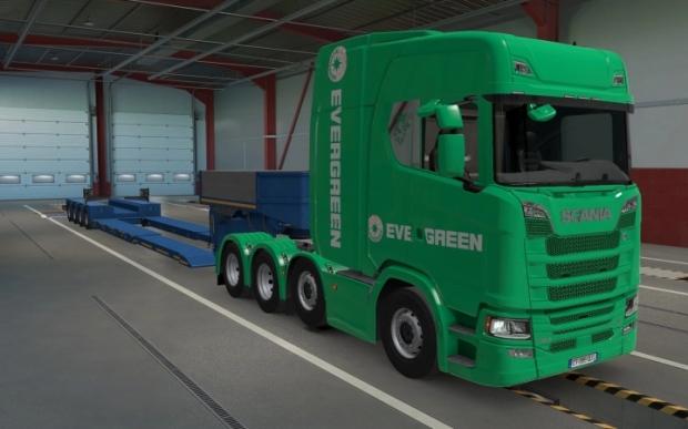 ETS2 - Scania S 2016 8x4 20 Skins (1.41.x)