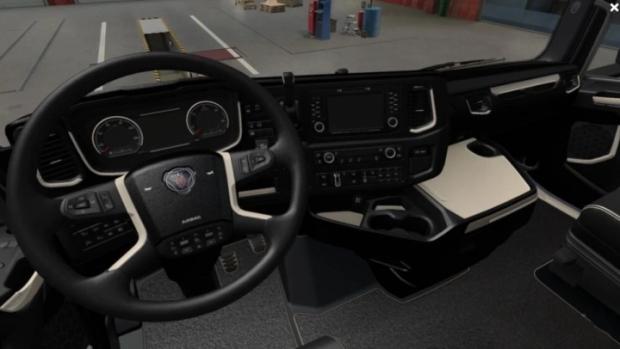 ETS2 - Scania S & R 2016 – Black - Beige Interior (1.42.x)