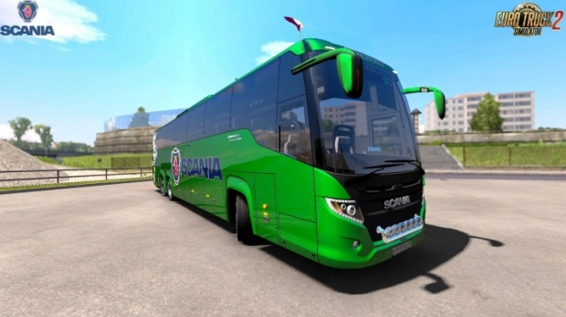 ETS2 - Scania Touring HD V1.2 Fixed (1.42.x)