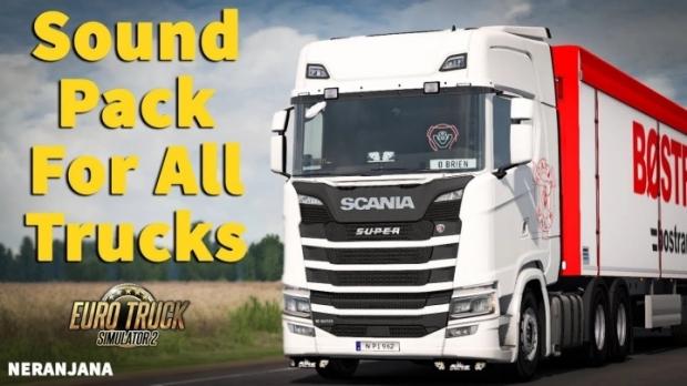 ETS2 - SCS Truck Sounds Reworked Megapack V6.0 (1.42.x)