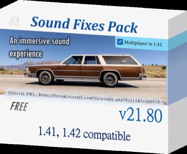 ATS - Sound Fixes Pack V21.80 (1.42.x)