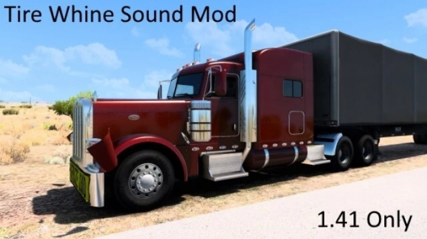 ATS - Tire Whine & Gravel Sound (1.41.x)