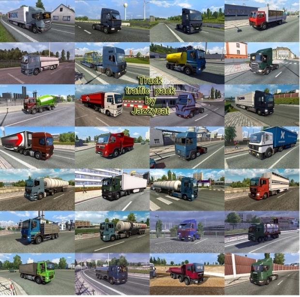 ETS2 - Truck Traffic Pack V5.9.1 (1.42.x)